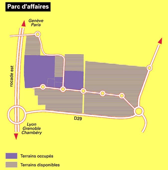 Plan de situation de la zone